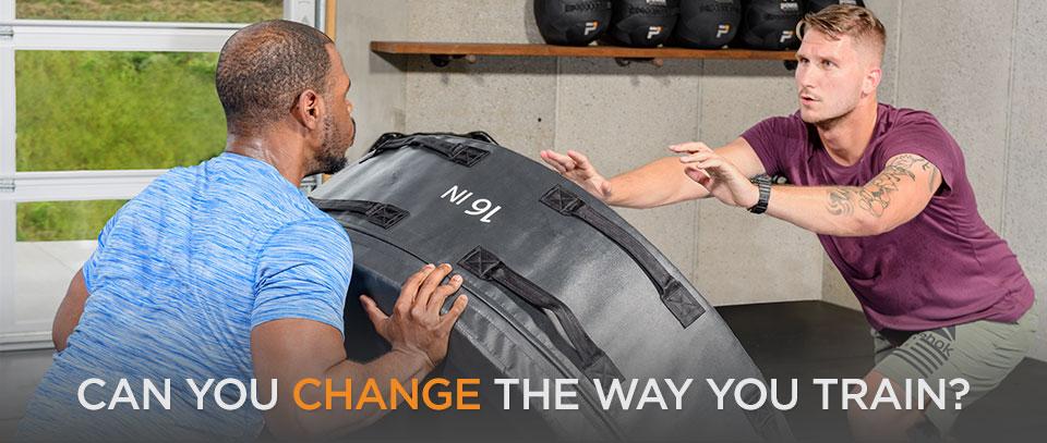 change the way you train